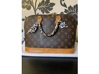 Genuine Louis Vuitton Alma MM Monogram Vintage Handbag