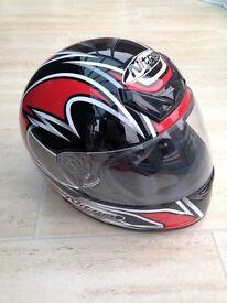 Size M Motorcycle helmet