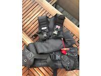 Zeagle BCD scuba diving vest used
