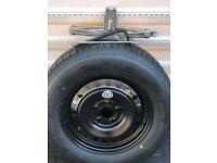 Nisson X Trail-QASHQAI Spare wheel full size