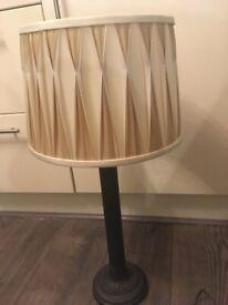 Laura AShley cream/beige lampshade