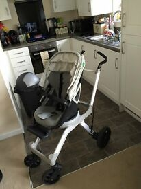 Orbit Baby Stroller, car seat and lots of extras