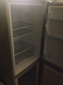 Silver fridge freezer Medium size...Cheap Free Delivery