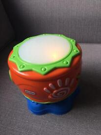 Little tikes light up drum