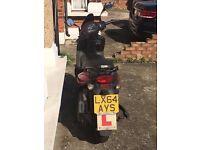 sym 124cc scooter