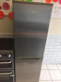 ✅Zanussi 6ft chrome fridge freezer can deliver