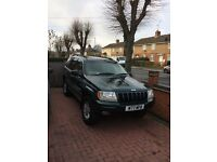 Jeep Grand Cherokee 3.1 diesel toe bar 4x4 good condition
