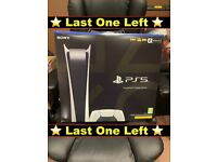 Sony PlayStation 5 (PS5) 4K Digital Edition ✅ In Stock Now ✅ UK Brand New