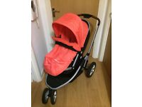 Baby Pushchair/ Buggy/ Pram with Color Pack - £130