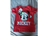 Brand new Mickey Mouse t-shirt 3-4 years