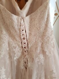 Wedding dress size 18 excellent condition