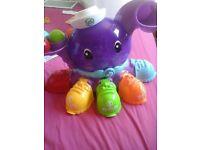 Leapfrog octopus ball game