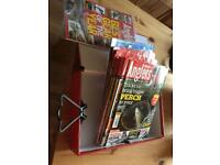 A bundle of Anglers mail fishing magazines