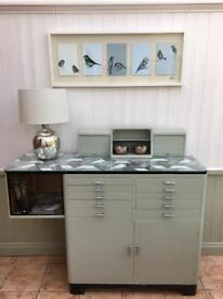 Vintage cabinet / sideboard with drawers