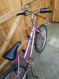Girls ladies bike