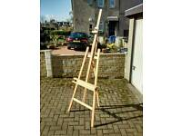 Mint condition large artists easel
