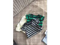 Newborn baby boy bunde of clothes 0-3 months