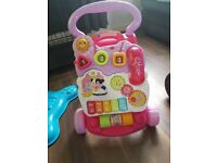 vtech first steps baby walker GOOD CONDITION