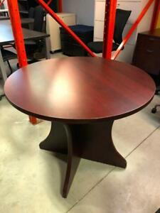 "36"" Round Table - $99.00"