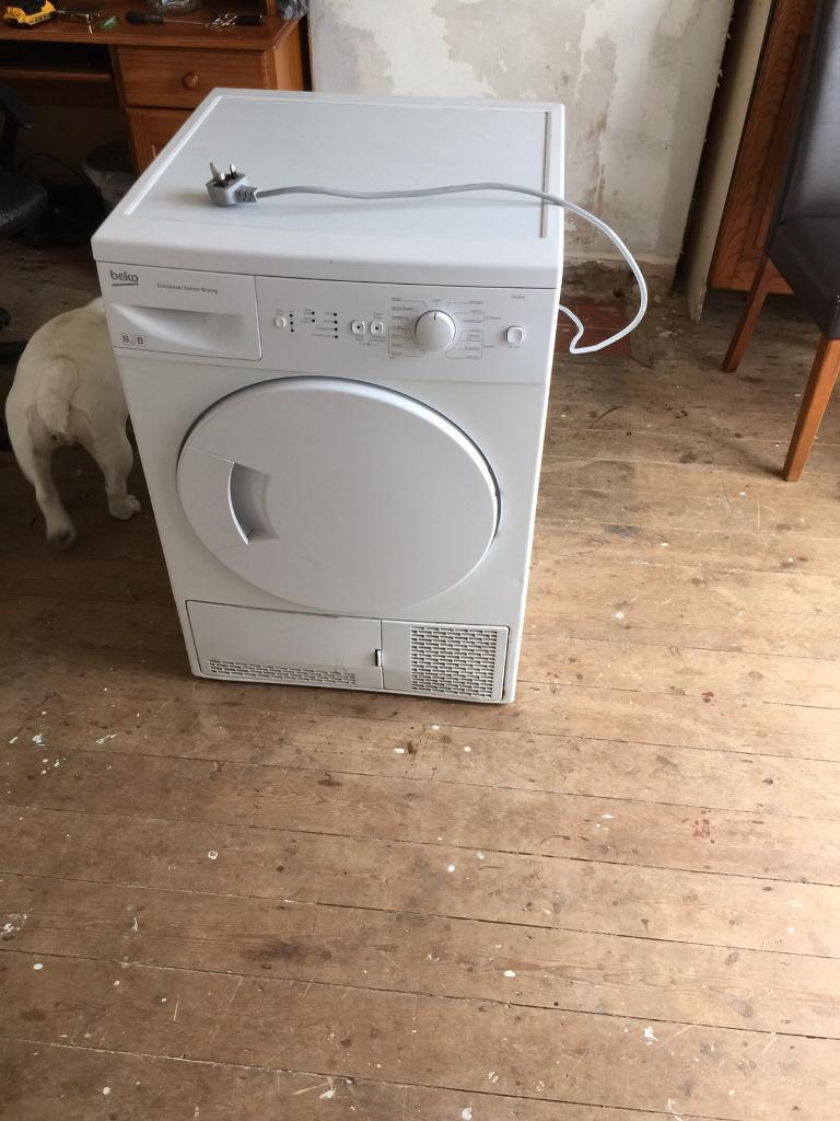 Dryer beko 8kg Spares or repair £15
