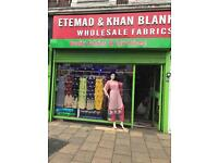 Fabric Shop and lease for sale