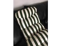 Brand new reclining garden chair cushion