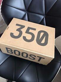 Brand New Adidas Yeezy Boost V2 Black/White - UK 8