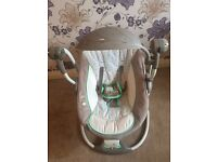 Electronic baby swing perfect condition
