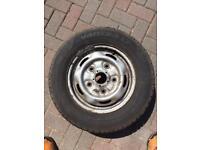 Ford Transit wheel tyre