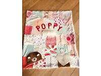 Baby memory blankets