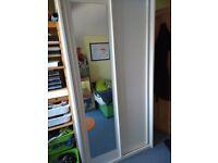 Wardrobe - IKEA White Sliding Doors