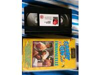 32 used VHS tapes for sale