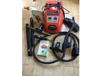 Polti Vaporetto 2400 steam cleaner, with tools