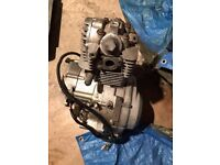 125cc engine AJS JSM motorcycle