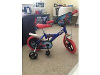 12 inch Spider-Man bike