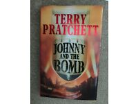 Terry Pratchett, Johnny and the Bomb collectable hardback first edition.