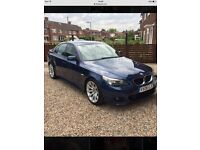 Bmw 520d msport full leather, sat nav,dvd,alloys, service history, cruise,climate