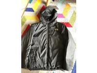 Boys North Face puff jacket - reversible!