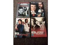 Lethal Weapon 1-4 DVD