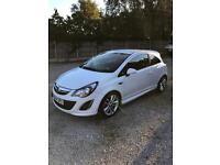 White Corsa SRI 1.4 petrol 64 reg