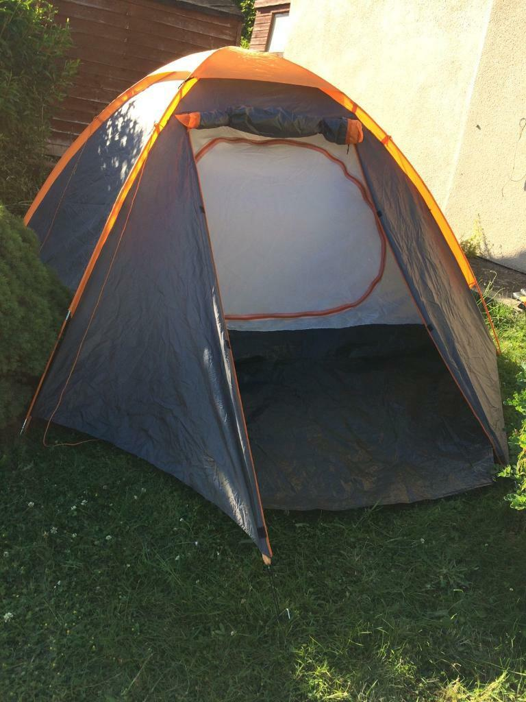 Still for sale: much loved 4 man tent with porch in mint condition and  double