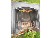 Heavy Cast Iron Fireplace