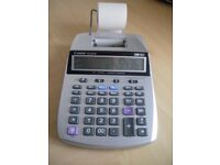 Canon P23-DTSC Calculator Time Saving; Tax; Business; Currency; Buttons