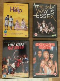 Coyote Ugly / The Help / You Got Served / The Only Way is Essex - Girly DVD Bundle
