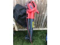 Garden leaf blower vacuum hoover
