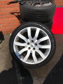 Landrover Range Rover Sport Alloys With Tyres