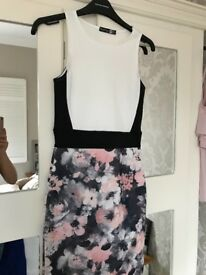 Boohoo bodycon dress size 6