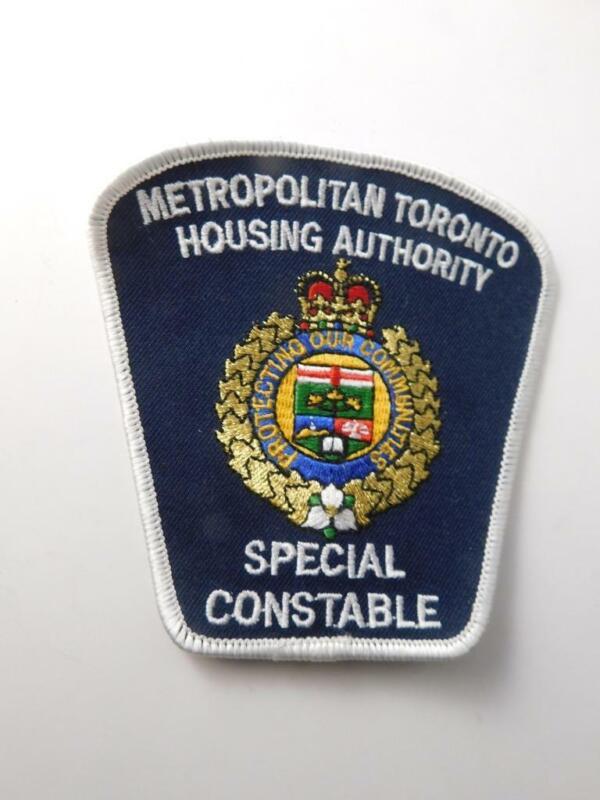 METROPOLITAN TORONTO HOUSING AUTHORITY POLICE SPECIAL CONSTABLE PATCH BADGE