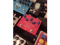 Cusack tap a whirl tap tempo tremolo guitar pedal