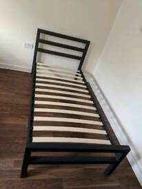 Metal Single bed frame free delivery